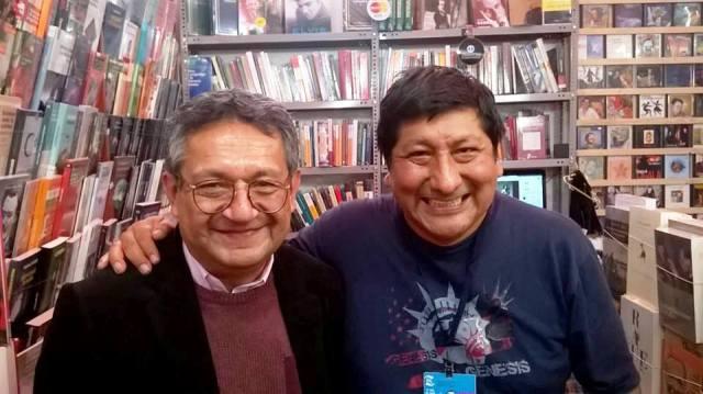 Eloy con Pedro Ponce